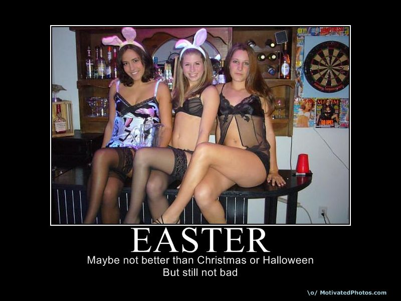 Sexy Easter women bunnies.